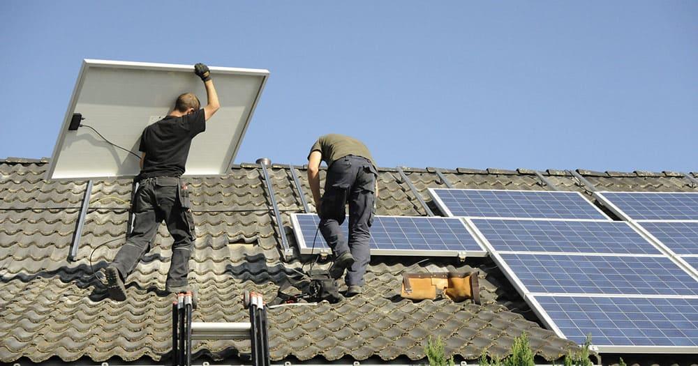 aanschaf zonnepanelen