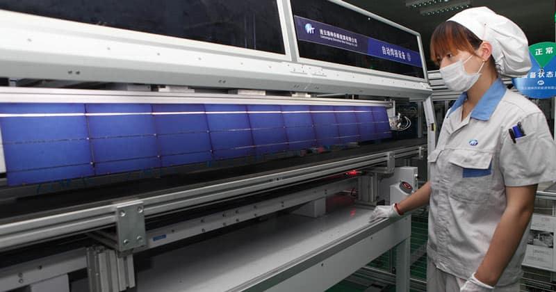 zonnepanelen uit china